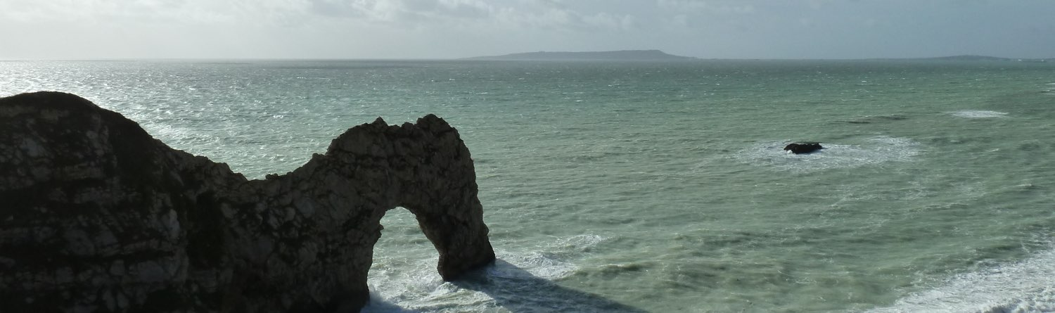 durdle door banner